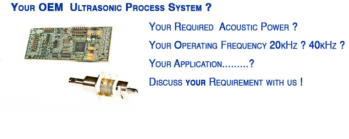 ultrasonic process system OEM